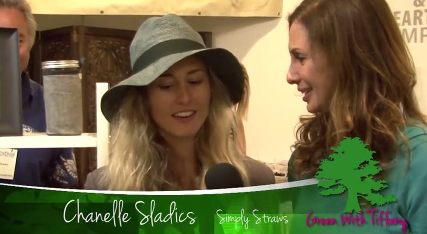Chanelle Sladics of Simply Straws, The Reusable Glass Drinking Straw