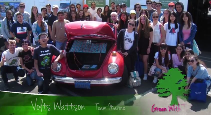 Team Marine – Volts Wattson VW Bug goes EV – AltCar Expo