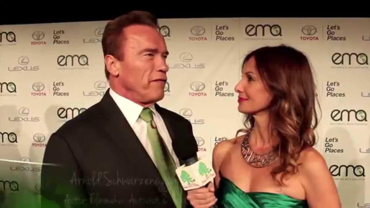 Arnold Schwarzenegger on Climate Change – EMA Awards